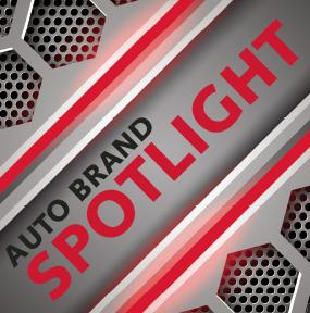 Auto Brand Spotlight Logo